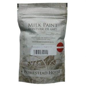 Produits de finition bois, sac de peinture de lait Homestead House 230g