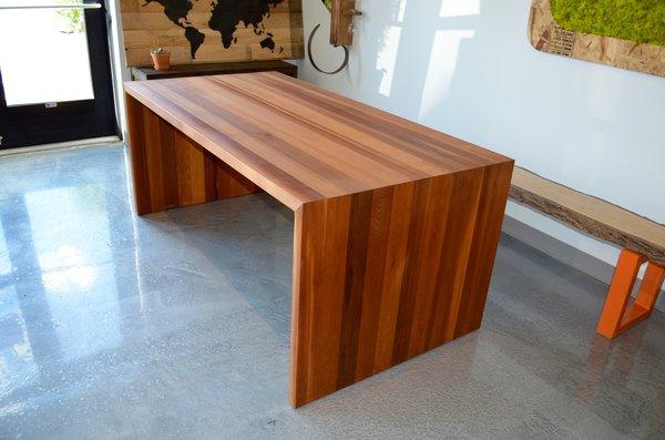 table de cuisine en bois - table de cuisine sur mesure de tout style - Table De Cuisine Sur Mesure