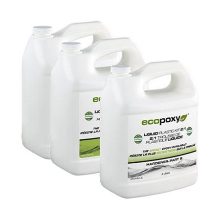 ecopoxy liquid plastic résine de casting pour bois, table rivière epoxy en vente au Québec chez L'ebenisterie lanaudiere