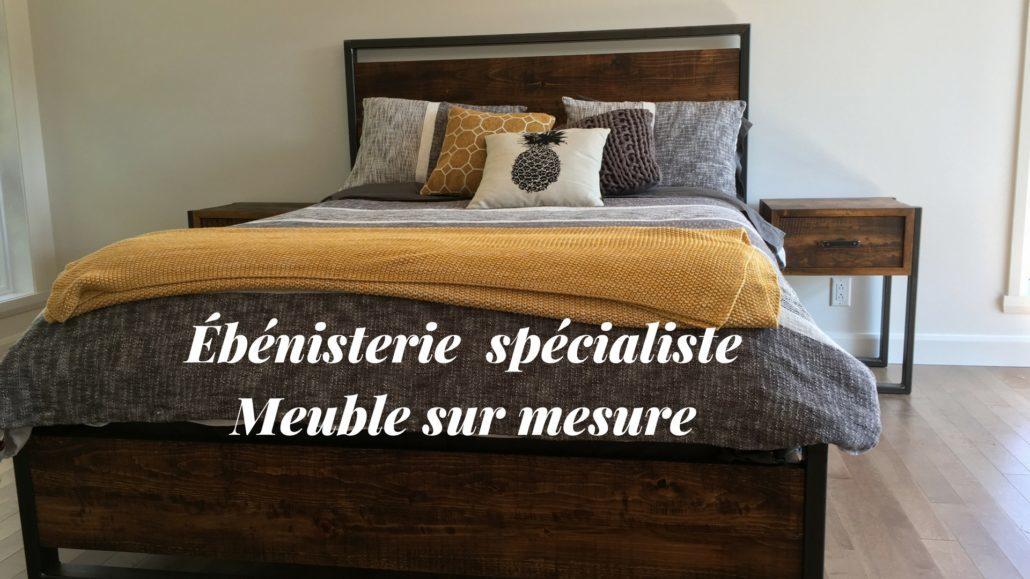 L'Ébénisterie de Lanaudière fabricant de meuble sur mesure en bois et bois-métal, cuisine et salle de bain